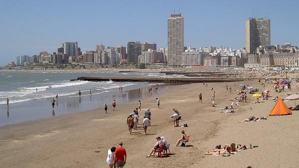 Mar del Plata siempre ha sido un lugar reconocido por los beneficios del agua salada (Min de Turismo)