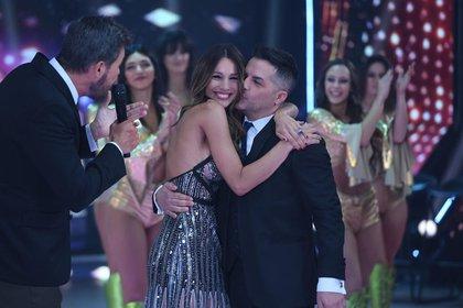 """En su vuelta a """"ShowMatch"""", Pampita se reconcilió con Ángel De Brito (Prensa LaFlia)"""