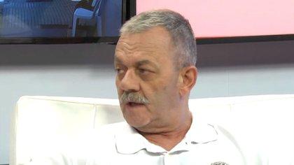 Víctor Sarnaglia, jefe de la Policía de Santa Fe