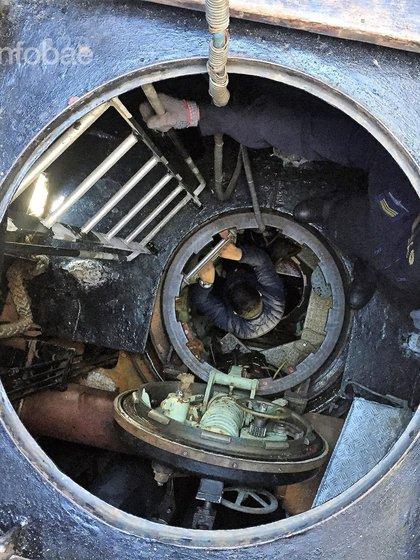 El interior del submarino ARA San Juan