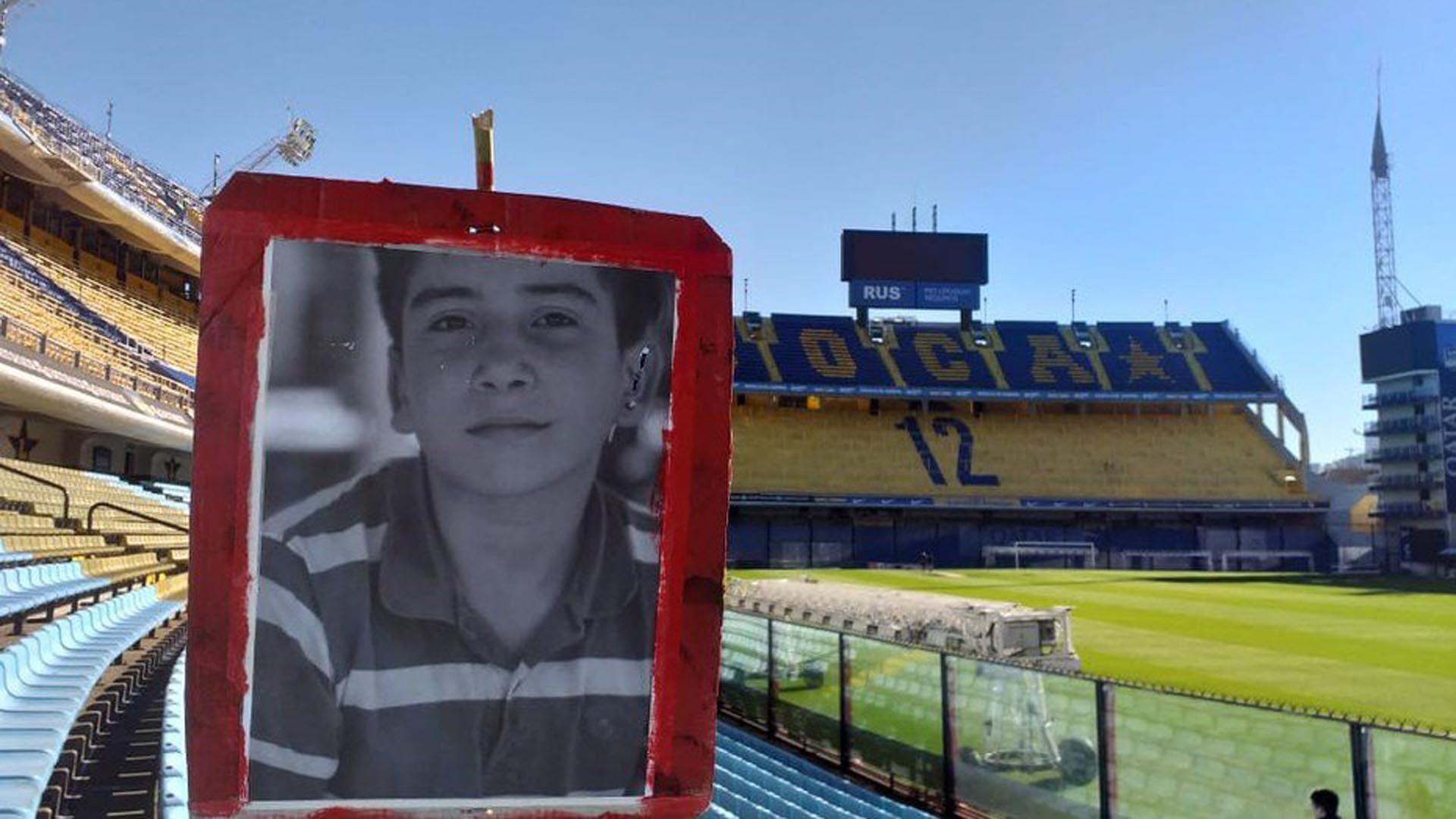 """En primer plano, Danilo Sansone (Fotos: merendero """"Los Niños de Monte"""")"""