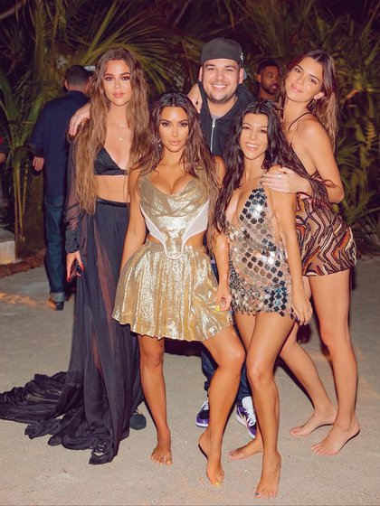 Kim Kardashian gastó USD 1 millón para festejar su cumpleaños