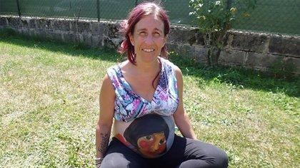Iratxe vive en un pequeño pueblo del País Vasco y eligió un curioso nombre para su tercera hija