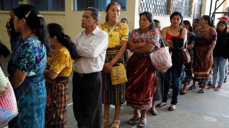 Más de ocho millones de guatemaltecos estuvieron llamados a las urnas (Reuters)
