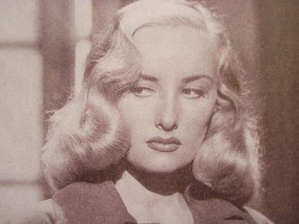 Una vieja imagen de Mirtha Legrand