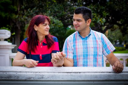 Romina y Marcos son madre e hijo pero se conocieron recién cuando él tenía 23 años