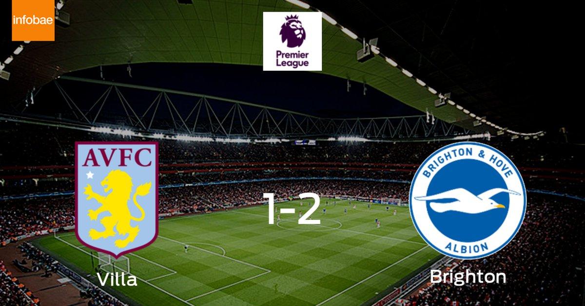 Brighton and Hove Albion logra una ajustada victoria ante Aston Villa (2-1) - Infobae