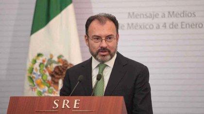 Luis Videgaray Caso se desempeñó como secretario de Hacienda y de Relaciones Exteriores durante el sexenio del ex presidente Enrique Peña Nieto (EFE)