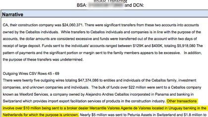 Mercantil Valores, la firma de Diego Marynberg en Uruguay, fue dada de baja en 2016 por el Banco Central de ese país por no prevenir el lavado de dinero.