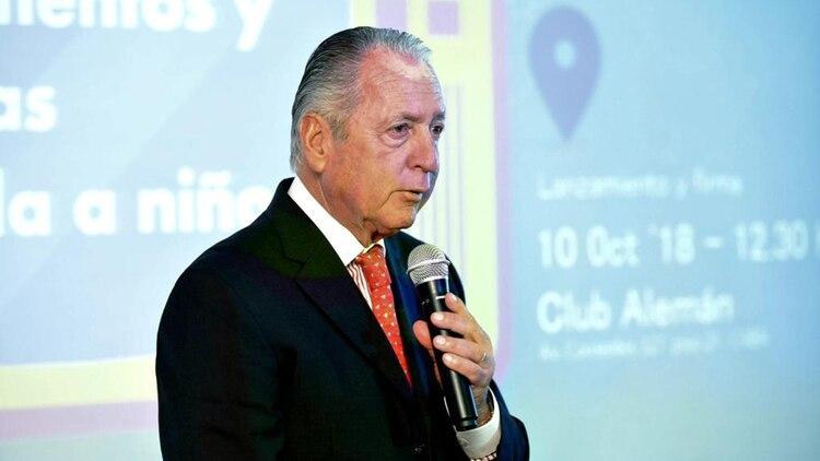 El doctor Daniel Funes de Rioja, presidente de COPAL, habló del compromiso por una alimentación saludable