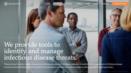 Metabiota es la compañía de datos epidemiológicos que fundó el autor de The Viral Storm. (Metabiota)