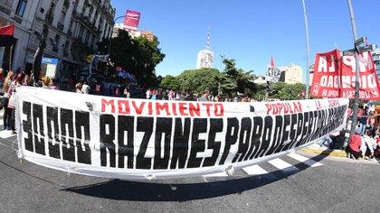A 45 años del último golpe militar, los organismos de derechos humanos suspendieron la marcha del 24 de marzo por la pandemia (Foto: Télam)