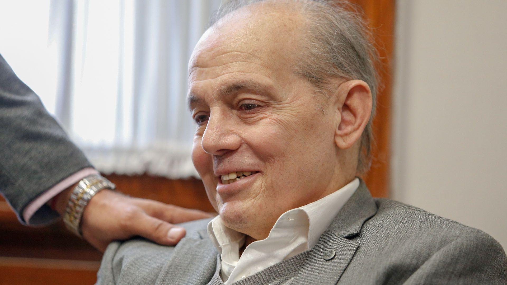 El entrenador de 66 años fue trasladado de La Plata a Capital Federal (Nicolás Aboaf)