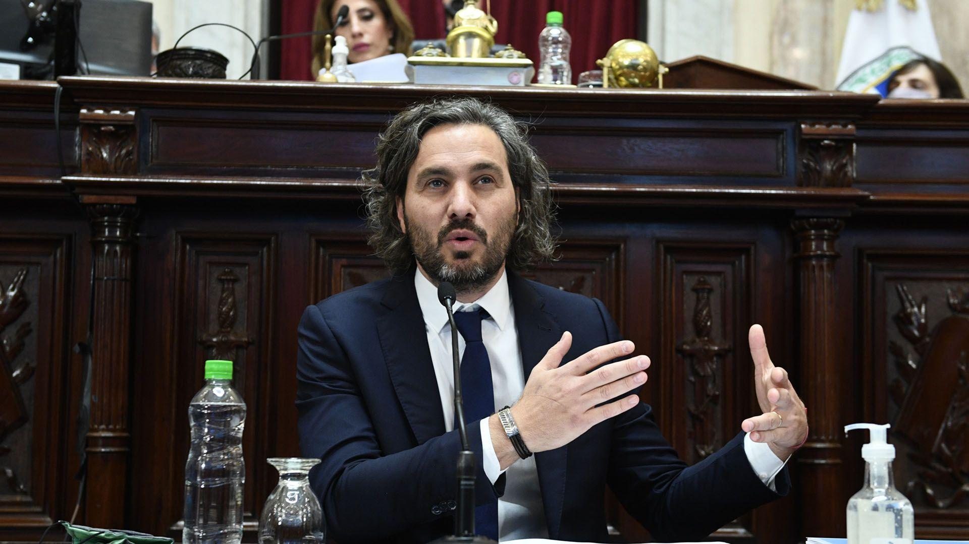 Informe Santiago Cafiero