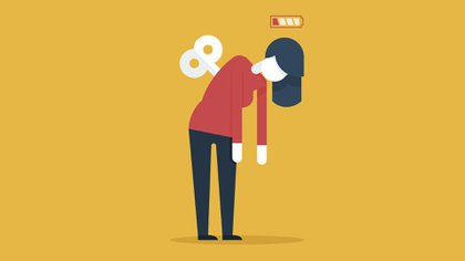El cansancio y agotamiento se vieron potenciados en estos 170 días de aislamiento - Shutterstock