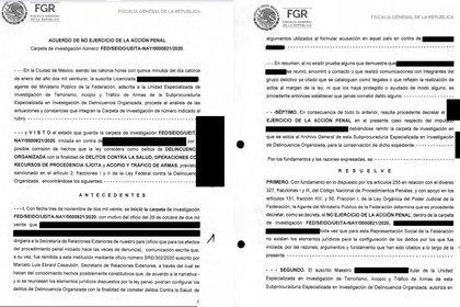La FGR decidió no ejercer acción penal contra Cienfuegos (Foto: FGR)