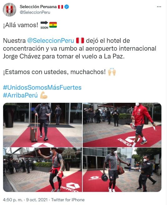 Redes Selección Peruana