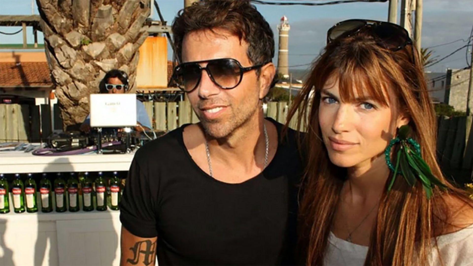 Daniela Urzi y Pablo Cosentino son papás de Thiago