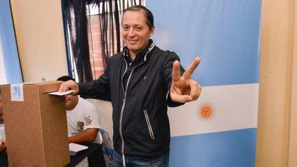 Fernando Grey, jefe comunal de Esteban Echevarría
