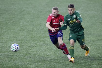 Portland Timbers anunció que adquirió la carta del chileno Felipe Mora, quien estaba a préstamo con el equipo (Foto: Soobum Im/ USA TODAY Sports)