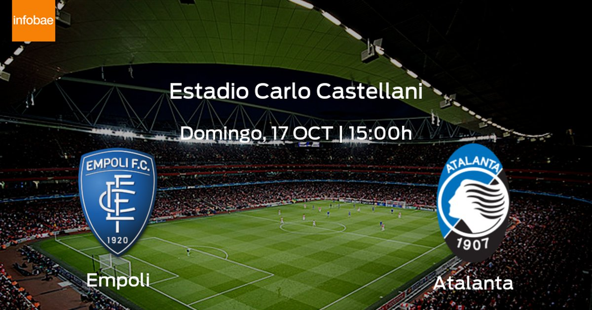 Jornada 8 de la Serie A: previa del encuentro Empoli - Atalanta - Infobae