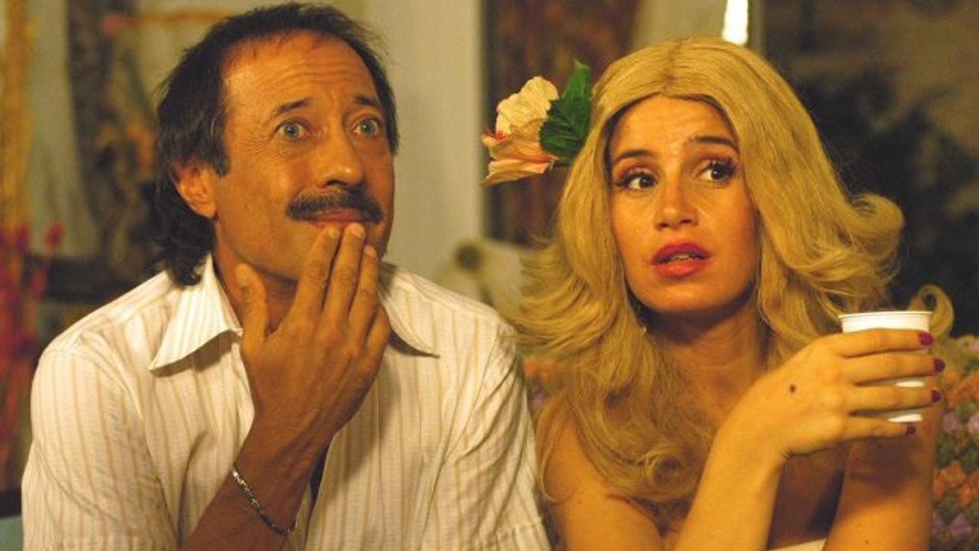 Pepe (Guillermo Francella) y Moni (Florencia Peña)