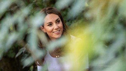 El beauty look accompaño la ocasión (Photo by Jack Hill / POOL / AFP)
