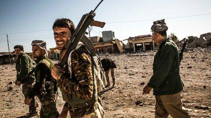 El yihadista fue detenido junto con otros dos militantes por tropas kurdas en la frontera con Irak