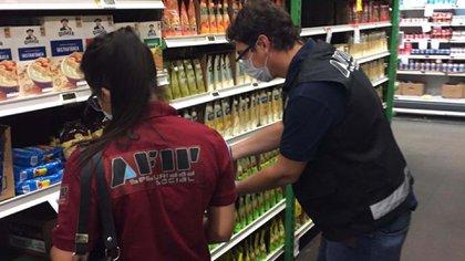 Controles de precios de la AFIP en los supermercados