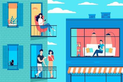 Hoy se cumplen 100 días del aislamiento social preventivo y obligatorio en la Argentina, y la vida hoy es muy distinta que unos meses atrás (Shutterstock)