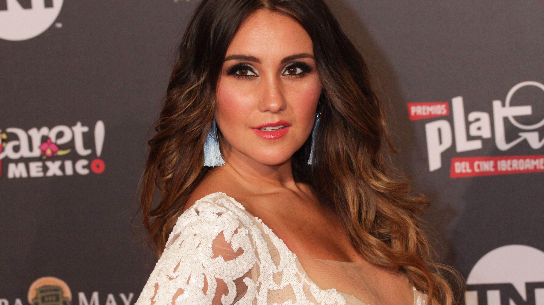 XCARET, QUINTANA ROO, 30ABRIL2018.- La cantante y actriz Dulce María, durante la V Entrega de los Premios Platino. FOTO: ELIZABETH RUIZ /CUARTOSCURO.COM