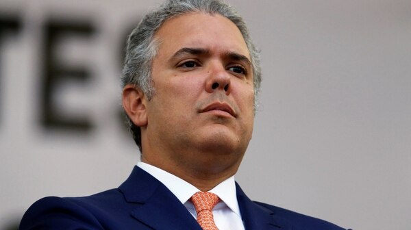 El presidente colombiano Iván Duque (REUTERS/Luisa Gonzalez)
