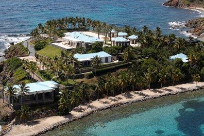 La isla privada de Epstein, donde supuestamente invitaba a ricos y famosos para sus fiestas sexuales