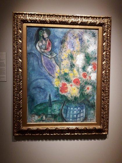 Una obra de Chagall