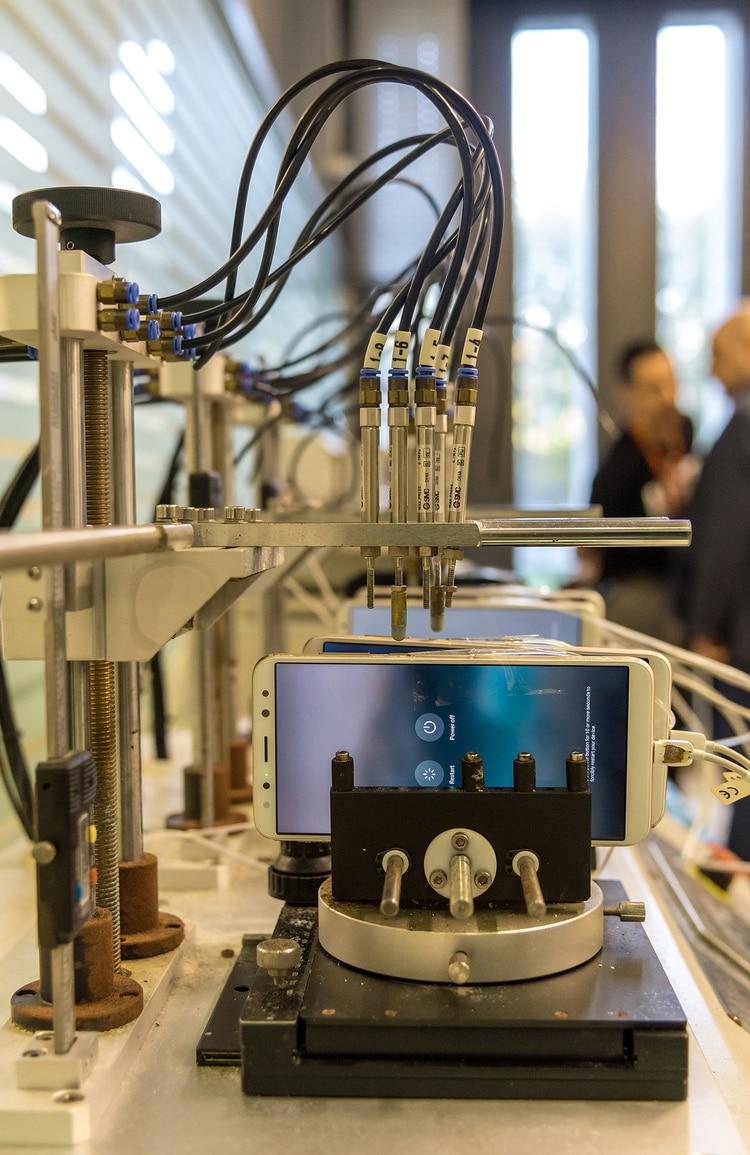 El laboratorio tecnológico de Huawei en Beijing. La empresa es controlada por el Partido Comunista Chino, como todas las compañías de aquel país