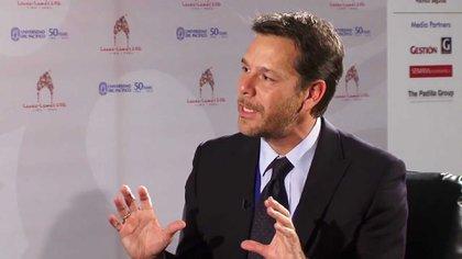 Luis Cubeddu, jefe de la misión del Fondo para la Argentina