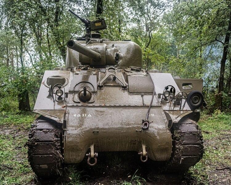 Las fuerzas acorazadas del Segundo Cuerpo polaco estuvieron equipadas en parte con tanques M4 Sherman de diferentes variantes (Shutterstock)