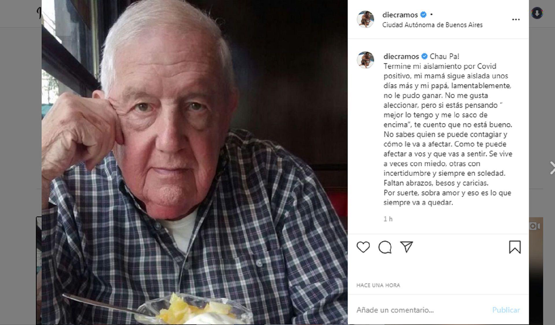 diego ramos instagram papa