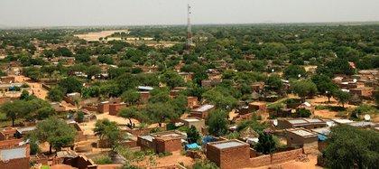 03/01/2020 Vista panorámica de la ciudad de El Geneina, la capital de Darfur Occidental, Sudán. POLITICA AFRICA SUDÁN INTERNACIONAL UNAMID/HAMID ABDULSALAM