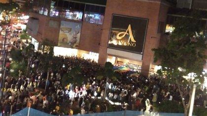 Más de 300 personas llegaron al plantó del pasado miércoles.