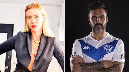 """Nicole Neumann y Fabián """"Poroto"""" Cubero"""