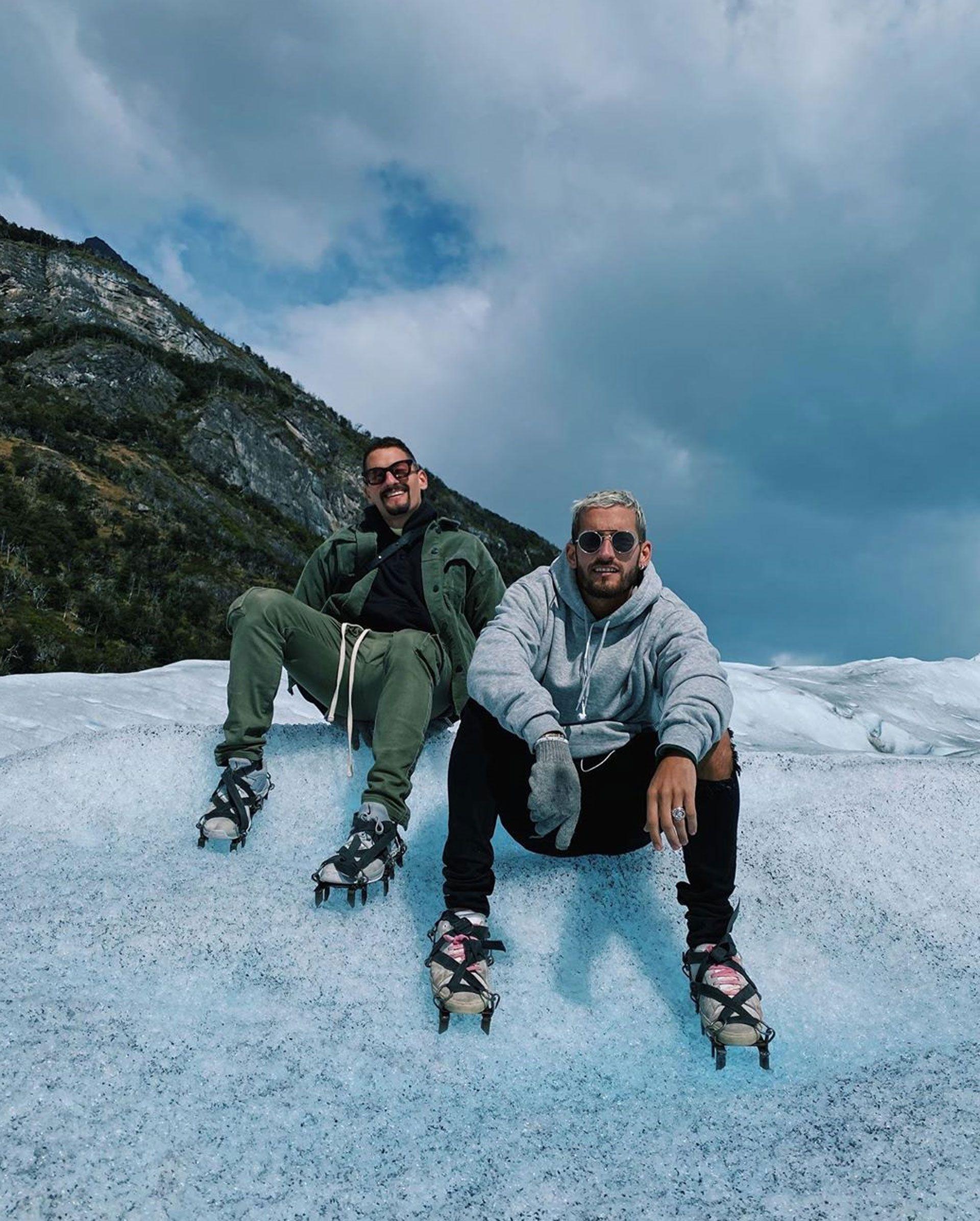 Los hermanos Montaner comparten los escenarios y sus vacaciones (Instagram)
