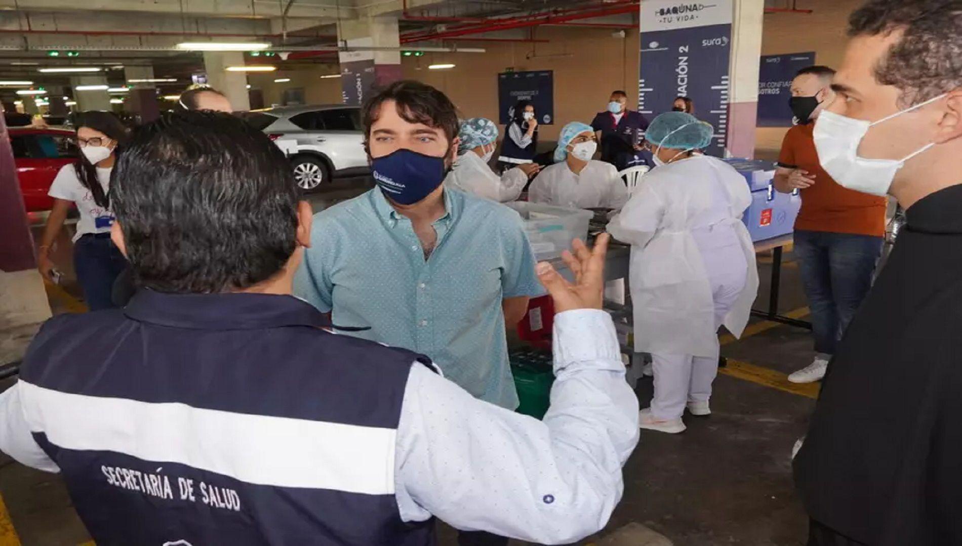 Barranquilla y el Atlántico autorizó el uso de hoteles para descongestionar hospitales. En la imagen: alcalde de la ciudad, Jaime Pumarejo.