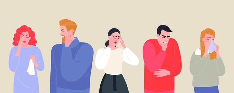 La Organización Mundial de la Salud (OMS) describe que los síntomas más comunes del COVID-19 son fiebre, cansancio y tos seca (Shutterstock)