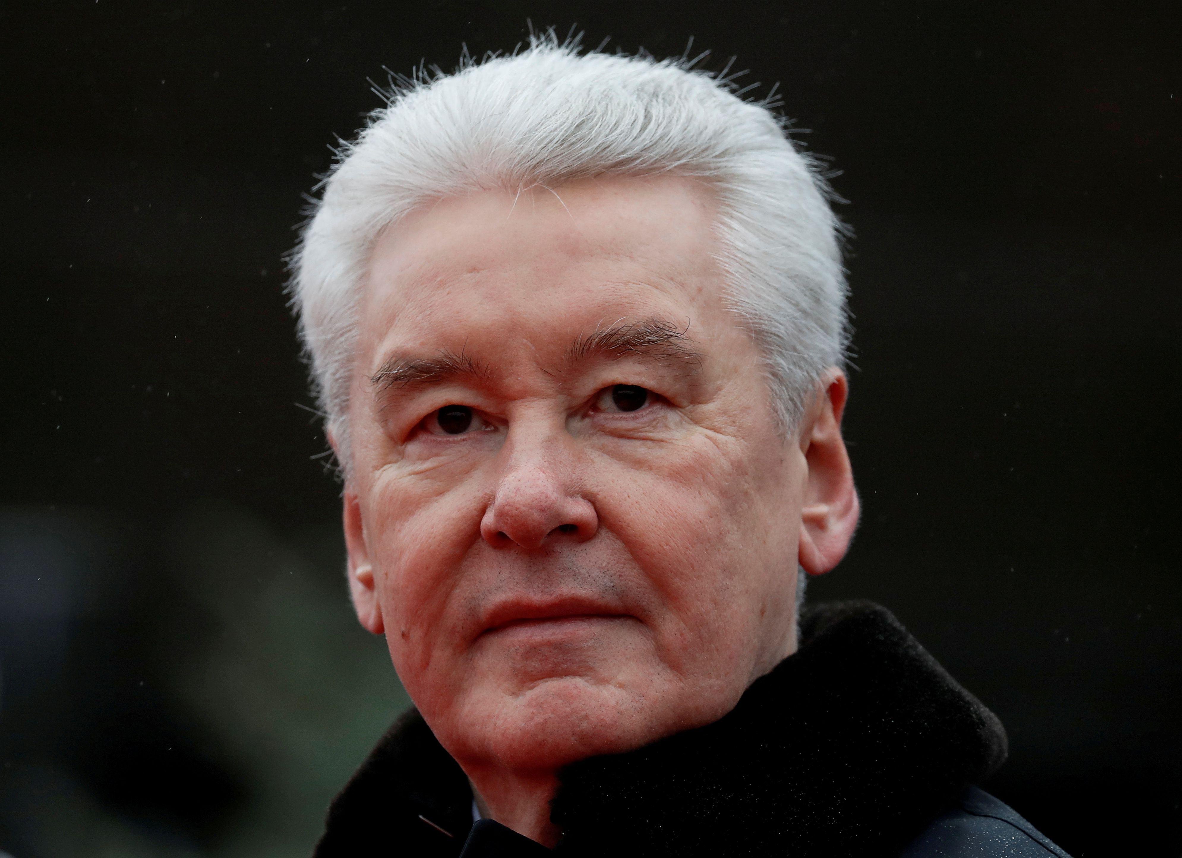 El alcalde de Moscú Sergei Sobyanin (REUTERS/Evgenia Novozhenina/archivo)