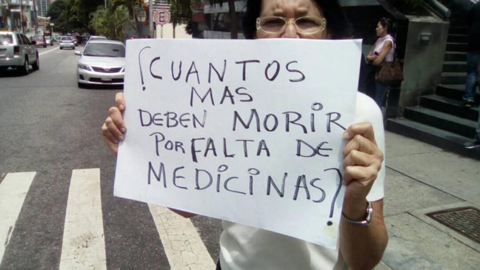 Cada vez más venezolanos mueren por la falta de medicinas