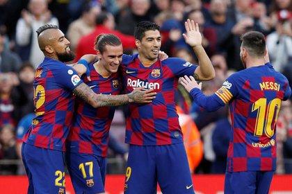 Barcelona estudia un importante trueque de figuras con Juventus (REUTERS/Albert Gea)