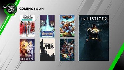 El servicio recibirá 7 juegos en enero