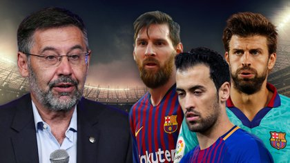 Bartomeu se había enfrentado en las últimas semanas a los capitanes del Barcelona por su intento de rebajar salarios
