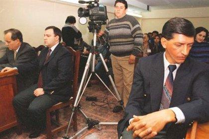 Imagen del juicio contra los acusados por este crimen.